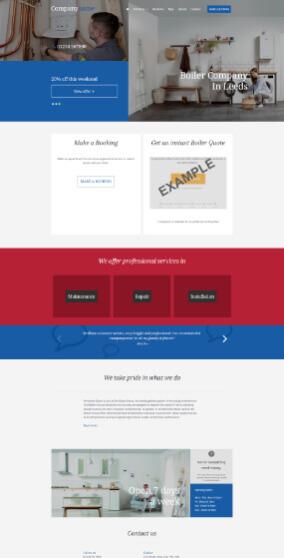 Worcester Bosch website 3
