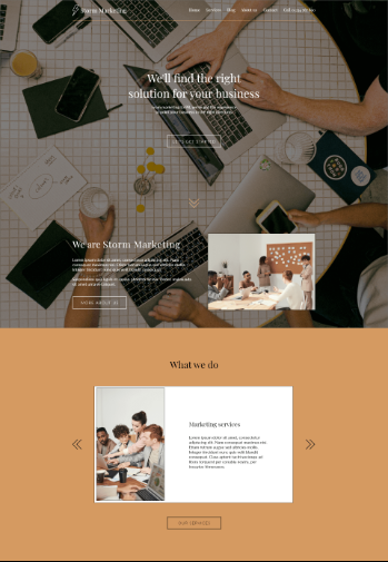Creative Studio template
