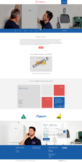 Worcester Bosch website 1