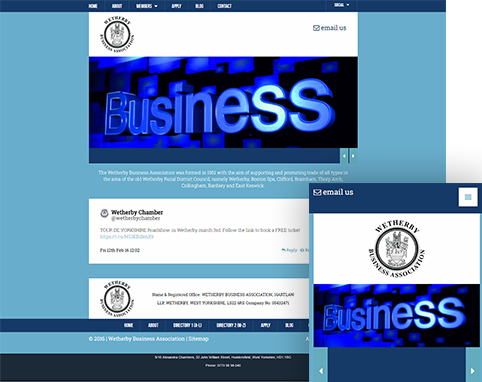 Wetherby Business Association Multi-Device Image