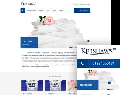 Ascensor Website Design Kershaws