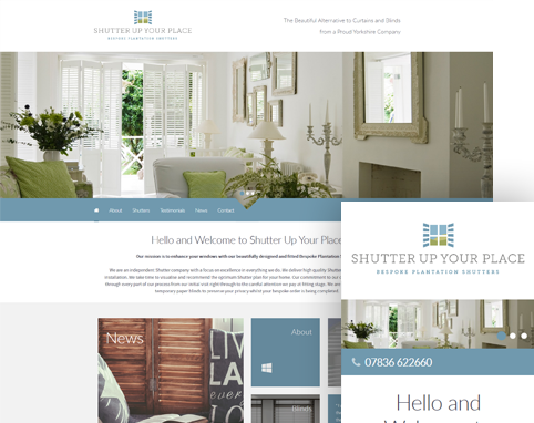 Shutter Up Your Place Website full image
