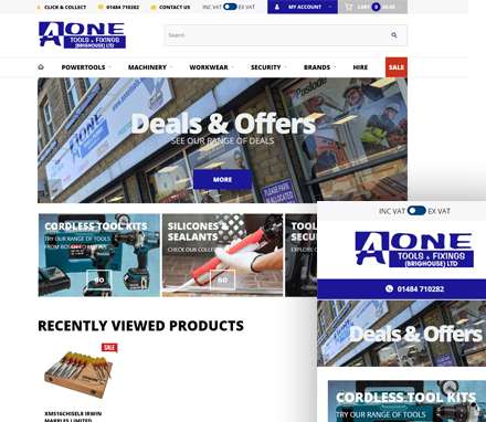 AOne Tools & Fixings