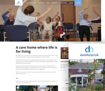 Donisthorpe Hall Care Home Website