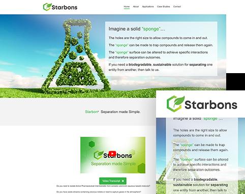 Starbons Air Website