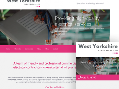 West Yorkshire Electrical Air Website