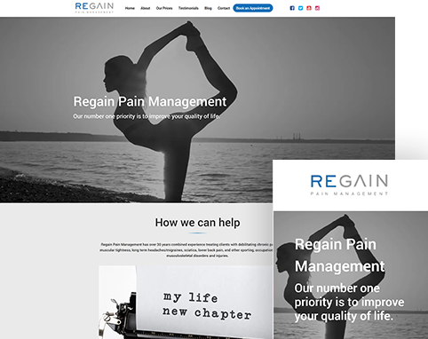 Regain Pain Management   Air Websites