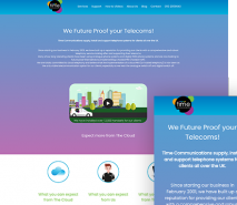 Time Communications | Air Websites
