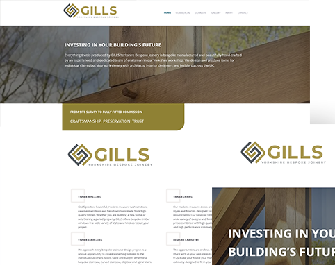 Gills Joinery | Air Websites