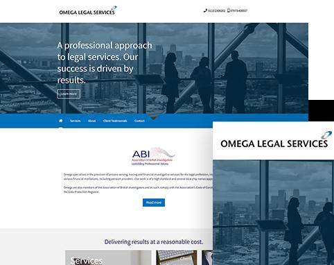 Omega Legal | Air Websites