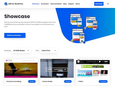 AMP Air Websites