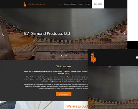 BV Diamond Products | Air Websites