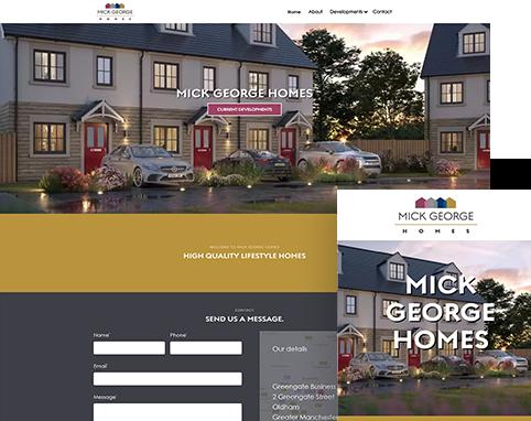 Mick George Homes | Air Websites