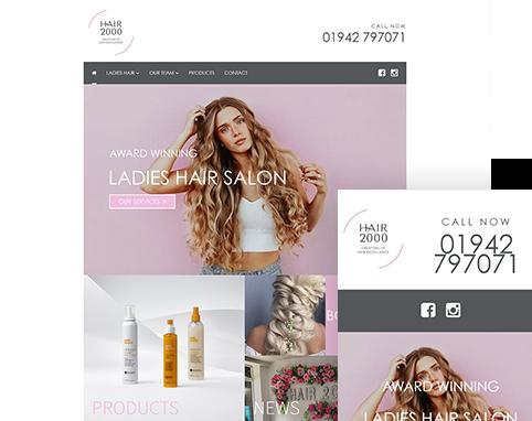 Hair 2000 | Air Websites